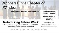 Canceled Until Further Notice: Winners Circle of Windsor - TEAM Referral Network