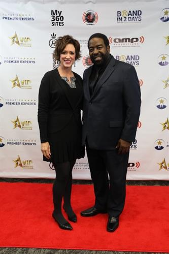 Les Brown and Cyn