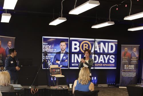 Branding With Rey Perez