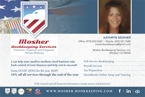 AD (MOSHER BOOKKEEPING SERVICES)