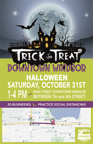 POSTER (TRICK -OR- TREAT DOWN WINDSOR)