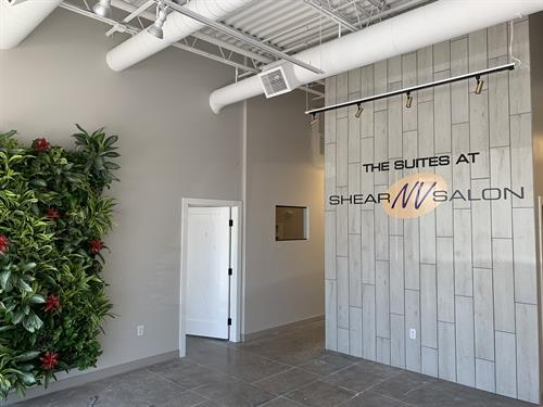 Dimensional Lettering and Vinyl Logo at The Suites at Shear NV