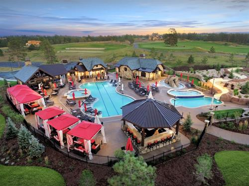 Colorado Golf Club Pool & Patio - Parker
