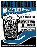 2020 NYE Crafts & Laughs Fundraising Event