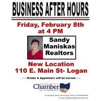 Business After Hours- Sandy Maniskas Realtors