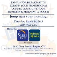 3/14/19 Breakfast Before Hours: Sleep Inn / MainStay Suites