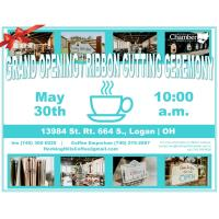 Ribbon Cutting Ceremony / Grand Opening - The Hocking Hills Inn & Coffee Emporium