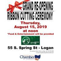Ribbon Cutting Ceremony - Hocking Hills Moonshine