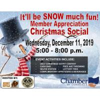 Annual Member Appreciation Christmas Social