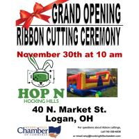 Ribbon Cutting Ceremony - Hop N Hocking Hills