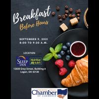 9-9-21 Breakfast Before Hours: POSTPONED