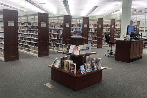 The Maureen B. Gauzza Public Library has a large collection of books, DVDS, audiobooks, music CDs, and more!
