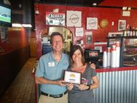 Welcoming Westshore Pizza to chamber