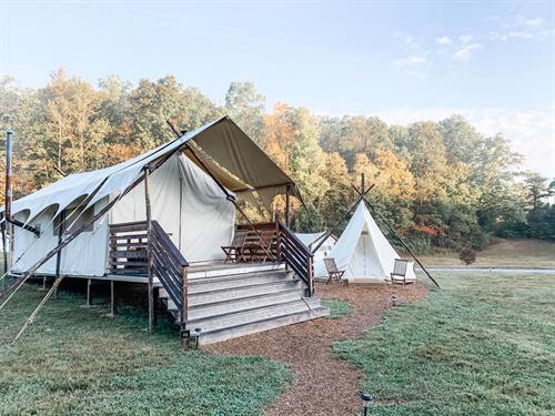 Sunbelt Staffing Camping Trip
