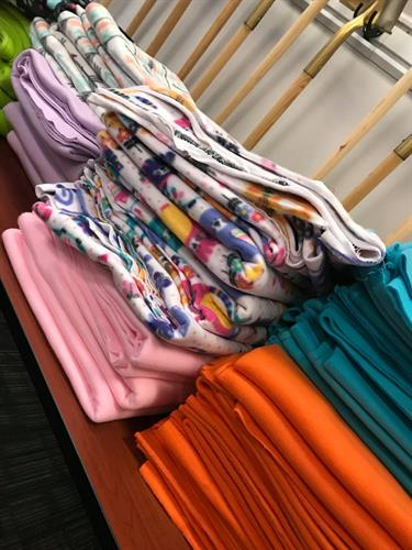 Project Linus donates blankets to children in need