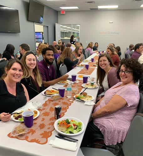 Sunbelt Staffing's Thanksgiving 2019