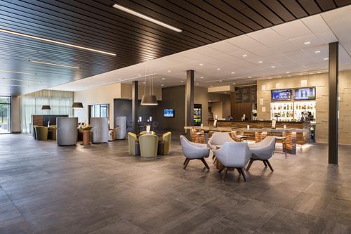 Lobby Bistro featuring Starbucks