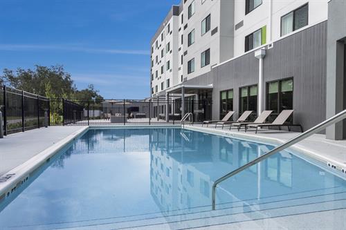 Hotel Exterior - Oversized Pool