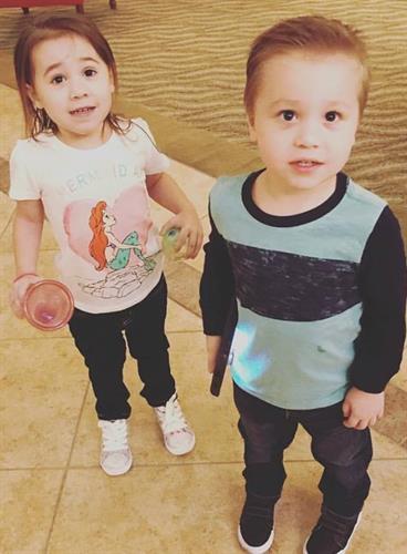 My twins Kaedence and Kacen