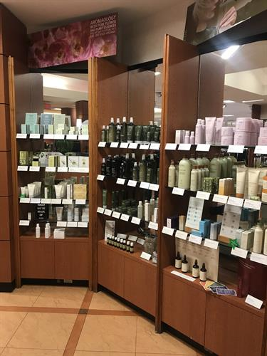 Stocked with your favorite Aveda products