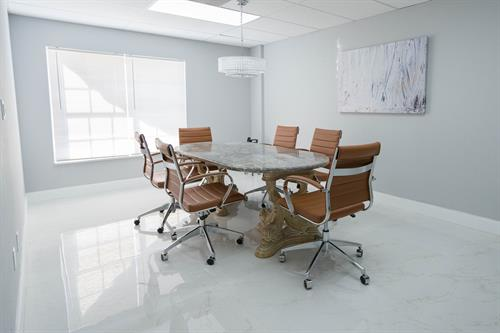 Fully renovated conference rooms