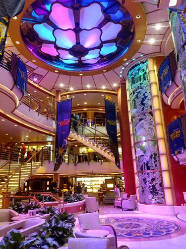 Atrium on the Caribbean Princess