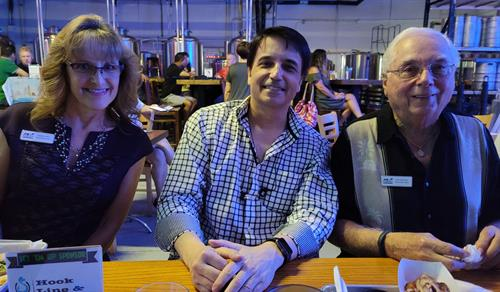 Debbie, David and Allen at Wild Rover Night