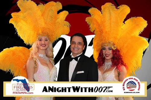 David is not only our realtor, but a great musician as well, performing at 007 night