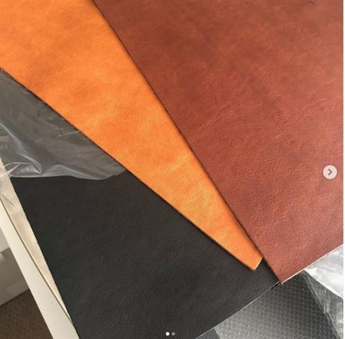 Hermann Oak Natural Leather in Brown, Chestnut, Black, Saddle Tan and Chocolate