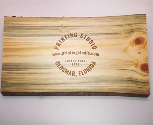 Charcuterie Board Engraving