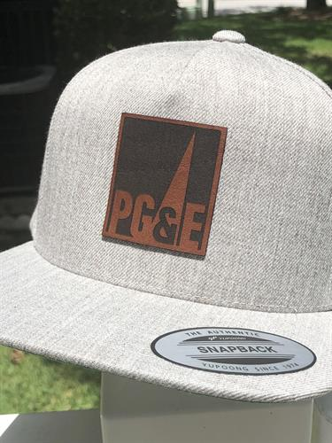 Custom Pacific Gas & Electric Hat