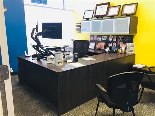 Private Office of Devine CPA. Local Lafayette Business.