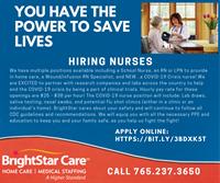 Nursing - RN, LPN, School & Covid 19 Crisis