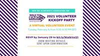 2021 Walk to End Alzheimer's Volunteer Kickoff