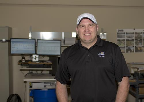 Eric Wright, Print Production Specialist