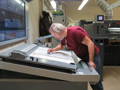 Jim Miller, Print Production Specialist