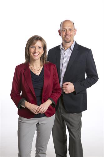 Brian and Kathy