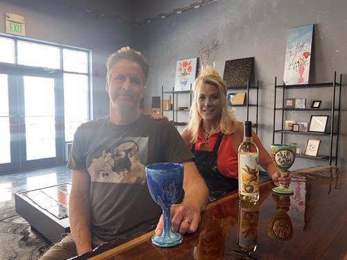 Sean & Annie at the Bar