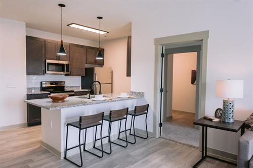 Spacious Kitchen & Dining Areas