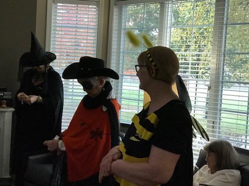 Halloween Elmcroft style