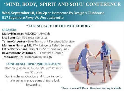 Mind, Body, Spirit, and Soul Conference - Sep 18, 2019