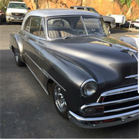 1951 Bel Air that we painted