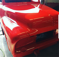 1954 Ford that we painted
