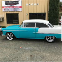 1955 Bel Air we painted
