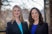 Attorneys Allison Harvey and Sue McCurnin