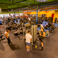 Tons of State-of-the-Art Equipment by TechnoGym