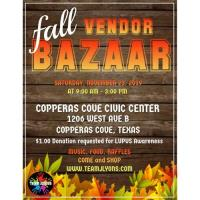 Fall Vendor Bazaar