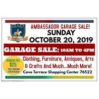 Ambassador Garage Sale