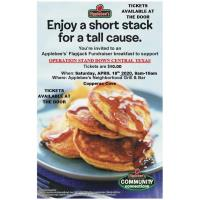 Operation Stand Down's Flapjack Fundraiser
