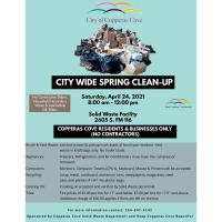 City Wide Spring Clean-Up